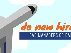 Do New Hires Leave Bad Managers or Bad Companies?