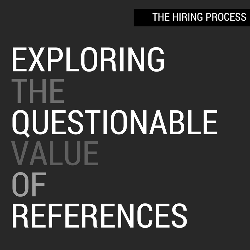 Exploring The Questionable Value Of References